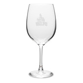 Valparaiso Crusaders 19 oz Deep Etched Red Wine Goblet