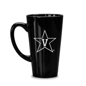 Vanderbilt Commodores 16 oz Deep Etched Black Java Mug