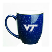 Virginia Tech Hokies 15 oz Deep Etched Cobalt Bistro Mug