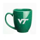Virginia Tech Hokies 15 oz Deep Etched Green Bistro Mug