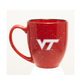 Virginia Tech Hokies 15 oz Deep Etched Red Bistro Mug