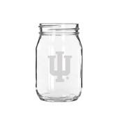 Indiana Hoosiers 16 oz. Old Fashion Drinking Jar