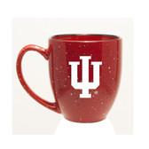 Indiana Hoosiers 15 oz. Deep Etched Red Bistro Mug