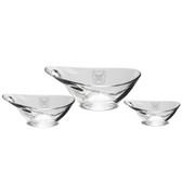 Butler Bulldogs Deep Etched Set of 3 Party Bowls