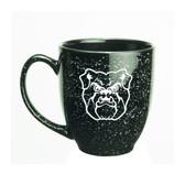Butler Bulldogs 15 oz. Deep Etched Black Bistro Mug
