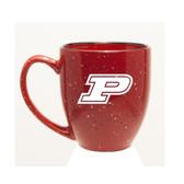 Purdue Boilermakers 15 oz. Deep Etched Red Bistro Mug