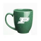 Purdue Boilermakers 15 oz. Deep Etched Green Bistro Mug