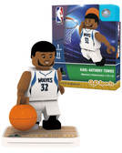 Minnesota Timberwolves KARL-ANTHONY TOWNS Home Uniform Limited Edition OYO Minifigure