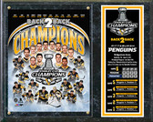 Pittsburgh Penguins 2017 NHL Stanley Cup Champions Composite Plaque
