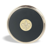 Louisiana Lafayette Ragin Cajuns Gold Tone Coaster