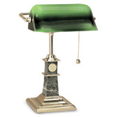 Louisiana Lafayette Ragin Cajuns Bankers Desk Lamp