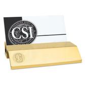 Stanford Cardinal Gold Business Card Holder