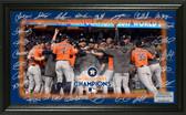 "Houston Astros 2017 World Series Champions ""Celebration"" Signature Field"