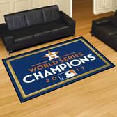 Houston Astros 2017 World Series Champions 5'x8' Rug