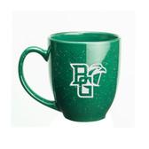 Bowling Green State Falcons Deep Etched 15 oz. Green Bistro Mug