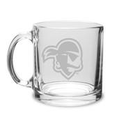 Seton Hall Deep Etched 13 oz. Clear Coffee Mug