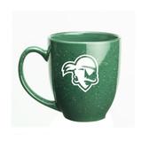 Seton Hall Deep Etched 15 oz. Green Bistro Mug