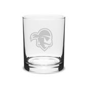 Seton Hall Deep Etched 14 oz. Double Old Fashion Glass