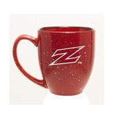 Akron Zips Deep Etched 15 oz. Red Bistro Mug