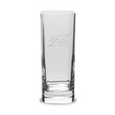Akron Zips Deep Etched 13.5 oz. Square Round Double Old Fashion Glass