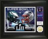 Super Bowl 52 Dueling Bronze Coin Photo Mint