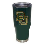 Baylor Bears 32oz Decal Powder Coated Stainless Steel Tumbler