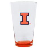 Illinois Fighting Illini 16oz Highlight Pint Glass