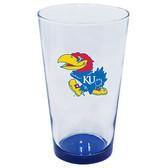 Kansas Jayhawks 16oz Highlight Pint Glass