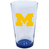 Michigan Wolverines 16oz Highlight Pint Glass