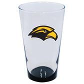 Southern Miss Golden Eagles 16oz Highlight Pint Glass