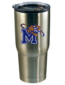 Memphis Tigers 22oz Decal Stainless Steel Tumbler