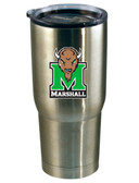 Marshall Thundering Herd 22oz Decal Stainless Steel Tumbler