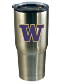 Washington Huskies 22oz Decal Stainless Steel Tumbler