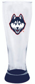 Connecticut Huskies 23 oz Highlight Decal Pilsner