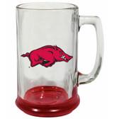 Arkansas Razorbacks 15 oz Highlight Decal Glass Stein