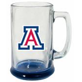 Arizona Wildcats 15 oz Highlight Decal Glass Stein