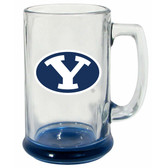 Brigham Young Cougars 15 oz Highlight Decal Glass Stein
