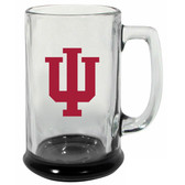 Indiana Hoosiers 15 oz Highlight Decal Glass Stein