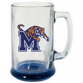 Memphis Tigers 15 oz Highlight Decal Glass Stein