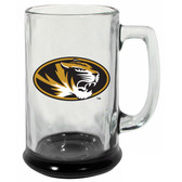 Missouri Tigers 15 oz Highlight Decal Glass Stein