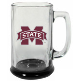 Mississippi State Bulldogs 15 oz Highlight Decal Glass Stein