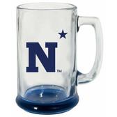 Navy Midshipmen 15 oz Highlight Decal Glass Stein