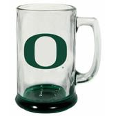 Oregon Ducks 15 oz Highlight Decal Glass Stein