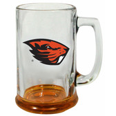 Oregon State Beavers 15 oz Highlight Decal Glass Stein