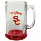 USC Trojans 15 oz Highlight Decal Glass Stein