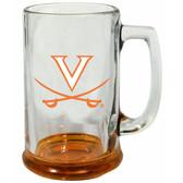 Virginia Cavaliers 15 oz Highlight Decal Glass Stein