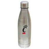 Cincinnati Bearcats 17 oz Stainless Steel Water Bottle