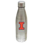 Illinois Fighting Illini 17 oz Stainless Steel Water Bottle