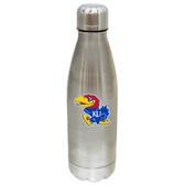 Kansas Jayhawks 17 oz Stainless Steel Water Bottle