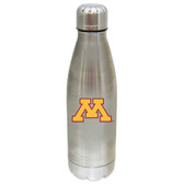 Minnesota Golden Gophers 17 oz Stainless Steel Water Bottle